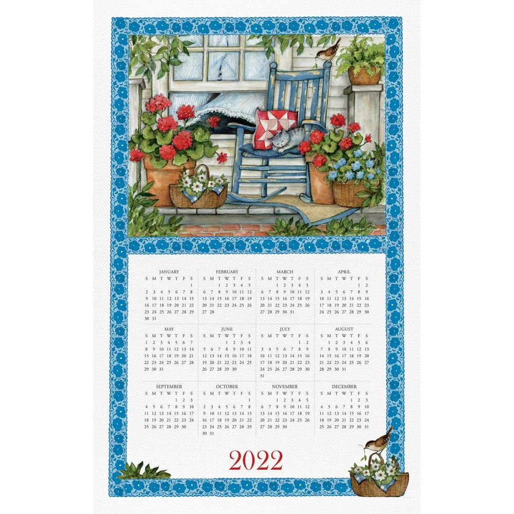 Home is Where the Heart Is 2022 Kitchen Towel Calendar