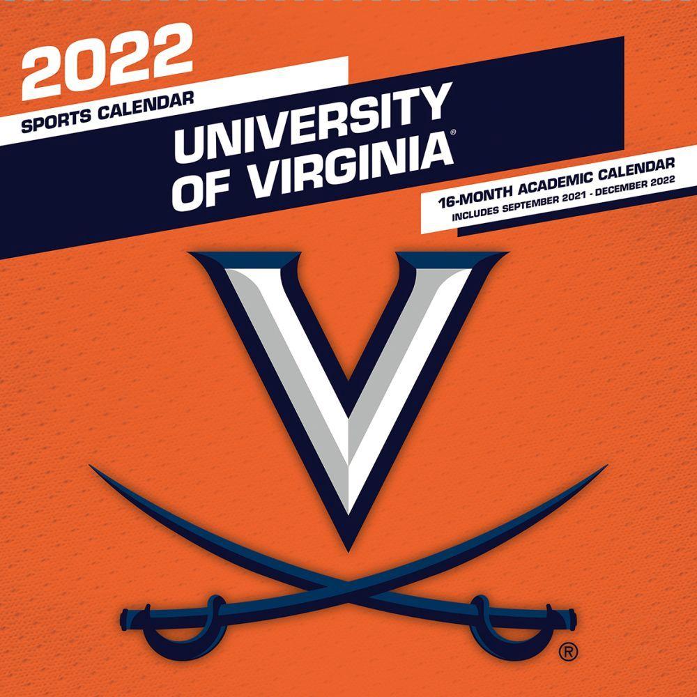 University of Virginia Cavaliers 2022 Wall Calendar