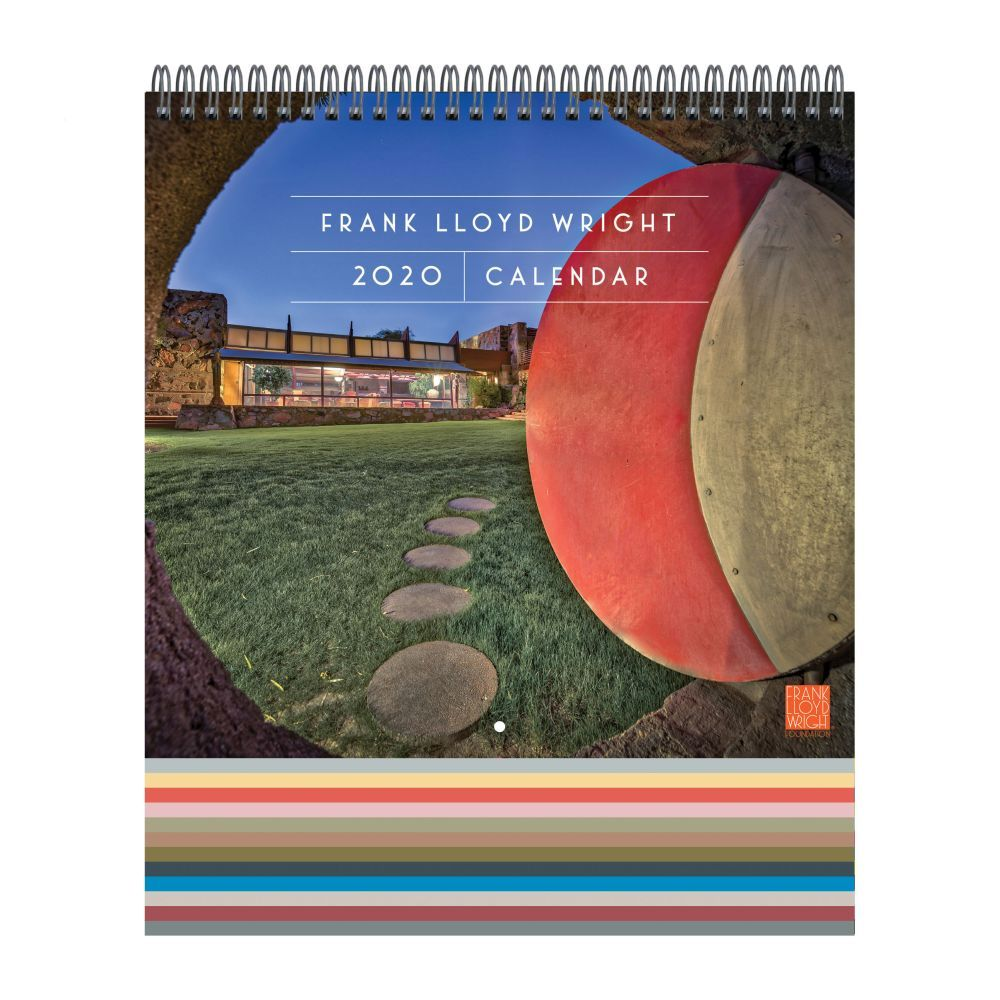 Frank Lloyd Wright 2021 Wall Calendar