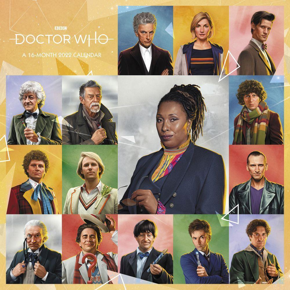 Doctor Who 2022 Wall Calendar