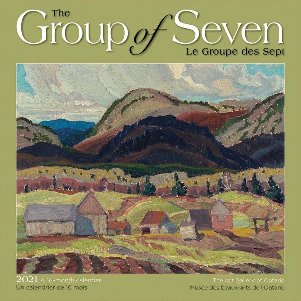 2021 Group of Seven AGO Mini Wall Calendar