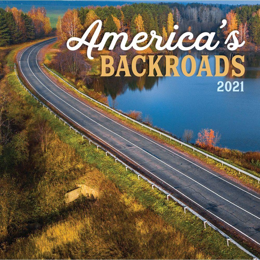 America's Backroads 2021 Wall Calendar