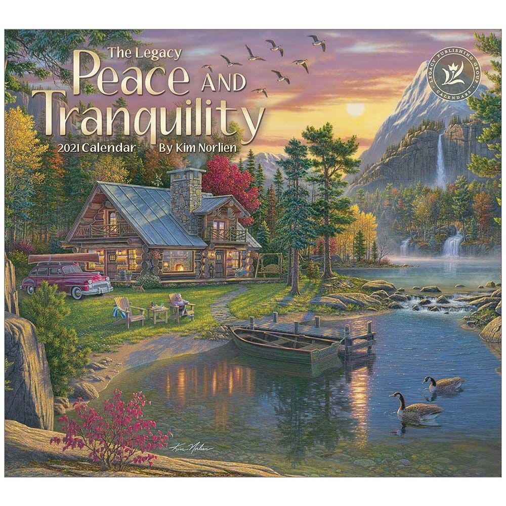 2021 Peace and Tranquility Wall Calendar