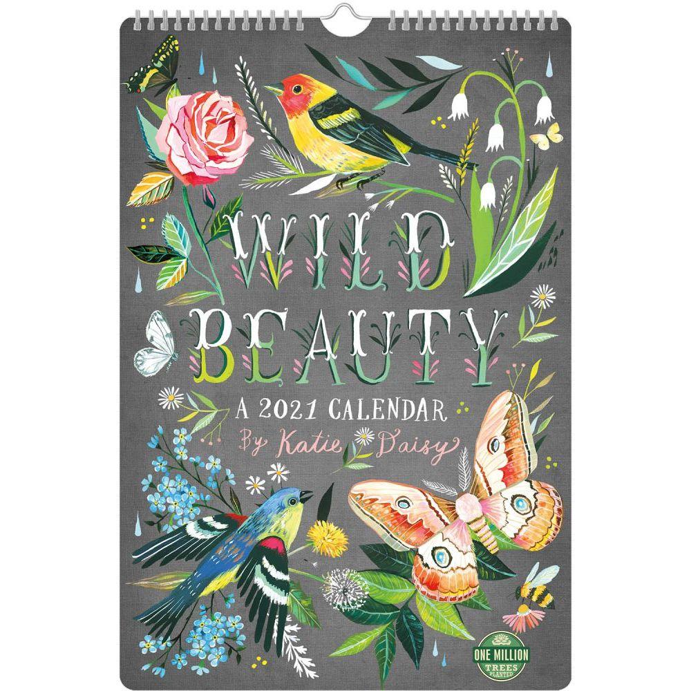 2021 Wild Beauty Poster Wall Calendar