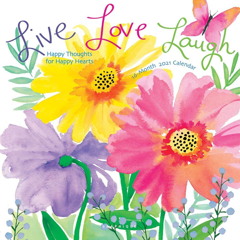 2021 Live Love Laugh Cavallo Wall Calendar