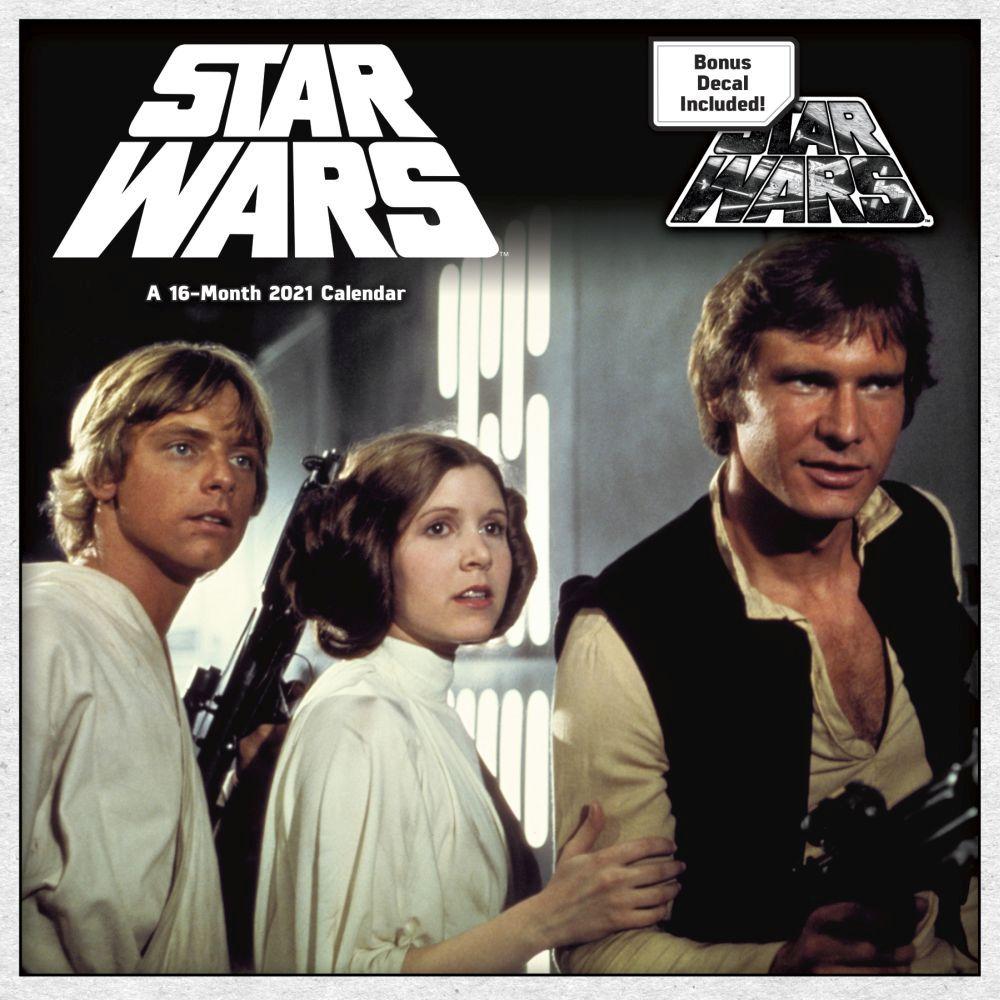 Star Wars Calendar 2022.Star Wars Saga Wall Calendar Calendars Com