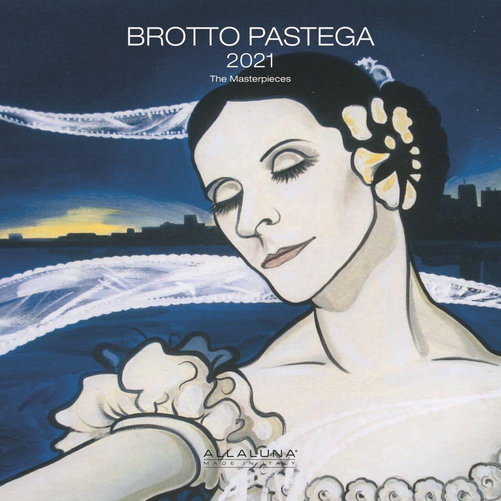 2021 Brotto Pastega Alla Luna Wall Calendar