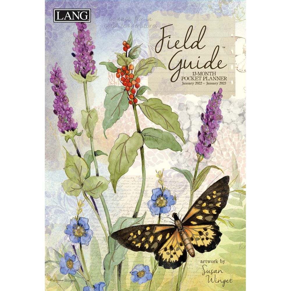 Field Guide 2022 Monthly Pocket Planner