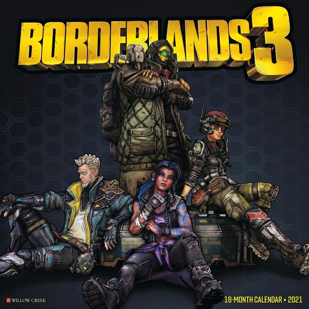 2021 Borderlands Wall Calendar