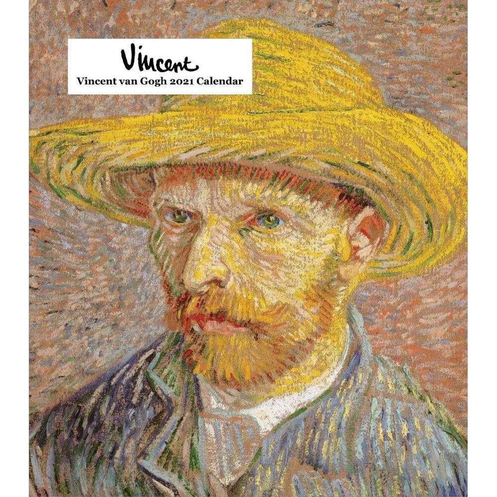 Vincent van Gogh 2021 Easel Calendar