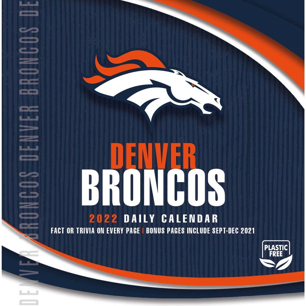 Denver Broncos 2022 Desk Calendar