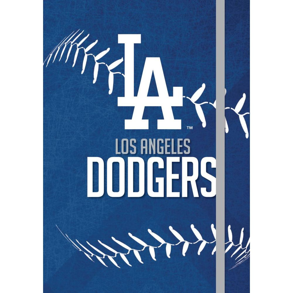 Los-Angeles-Dodgers-Soft-Cover-Stitched-Journal-1