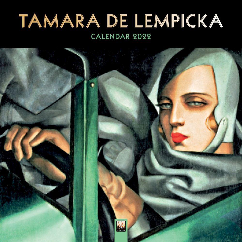 Tamara de Lempicka 2022 Wall Calendar