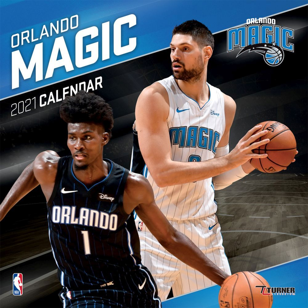 2021 Orlando Magic Team Wall Calendar