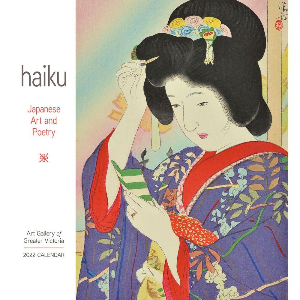 Haiku Japanese Art & Poetry 2022 Wall Calendar