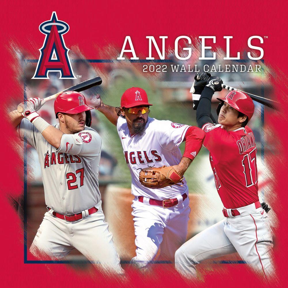 Los Angeles Angels of Anaheim 2022 Wall Calendar