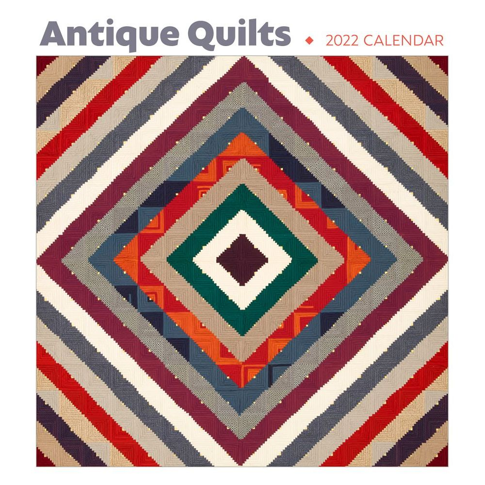 Antique Quilts 2022 Wall Calendar