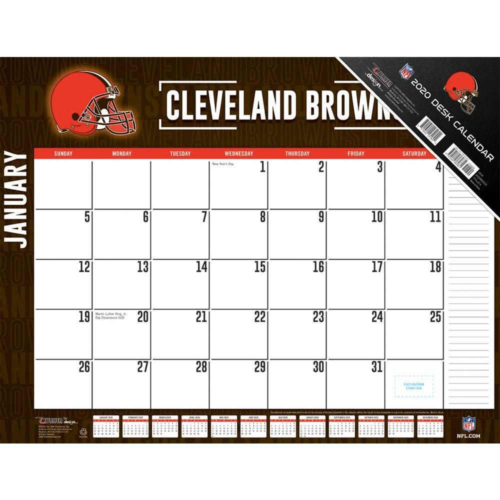 Cleveland Browns 2021 Desk Pad