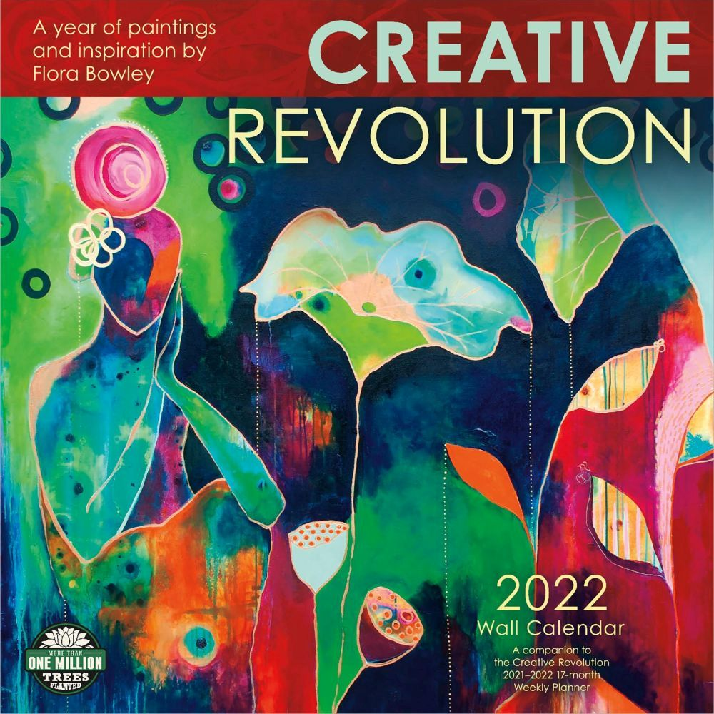 Creative Revolution 2022 Wall Calendar