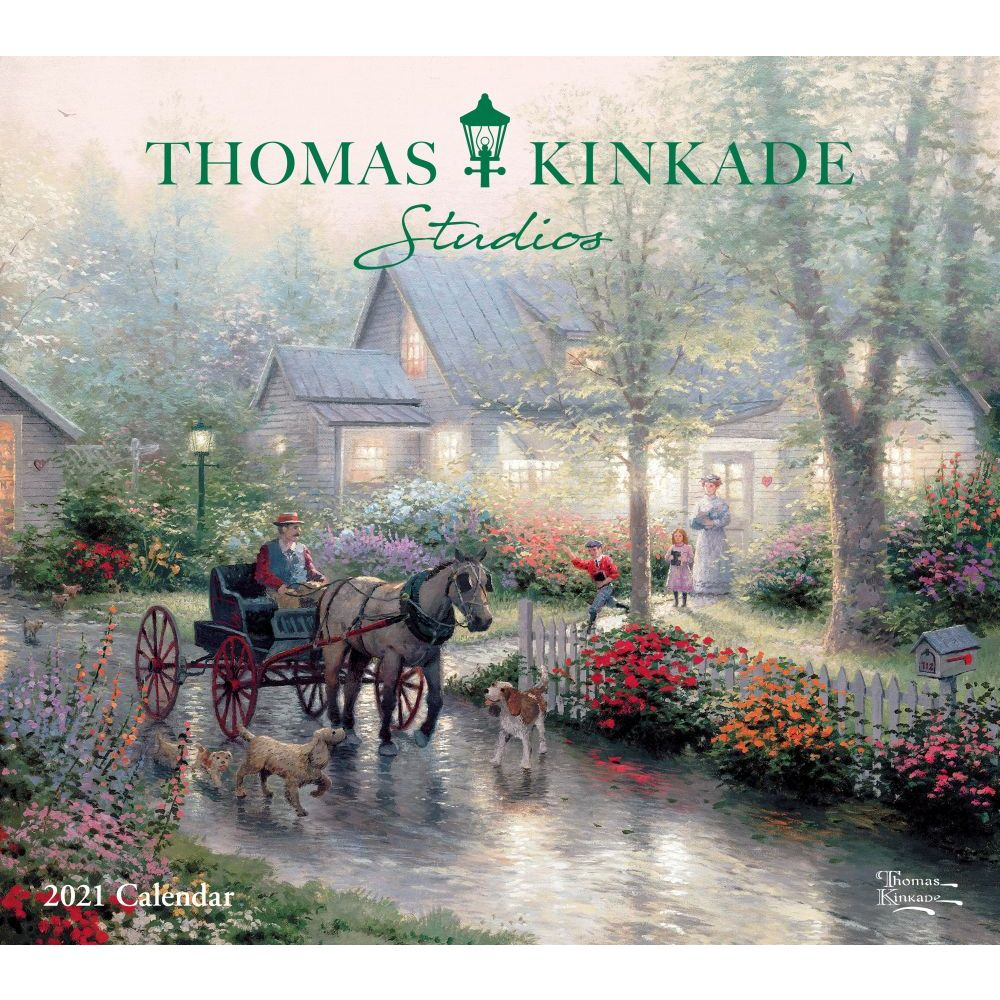 Image of Thomas Kinkade Calender Painter of Light for 2021