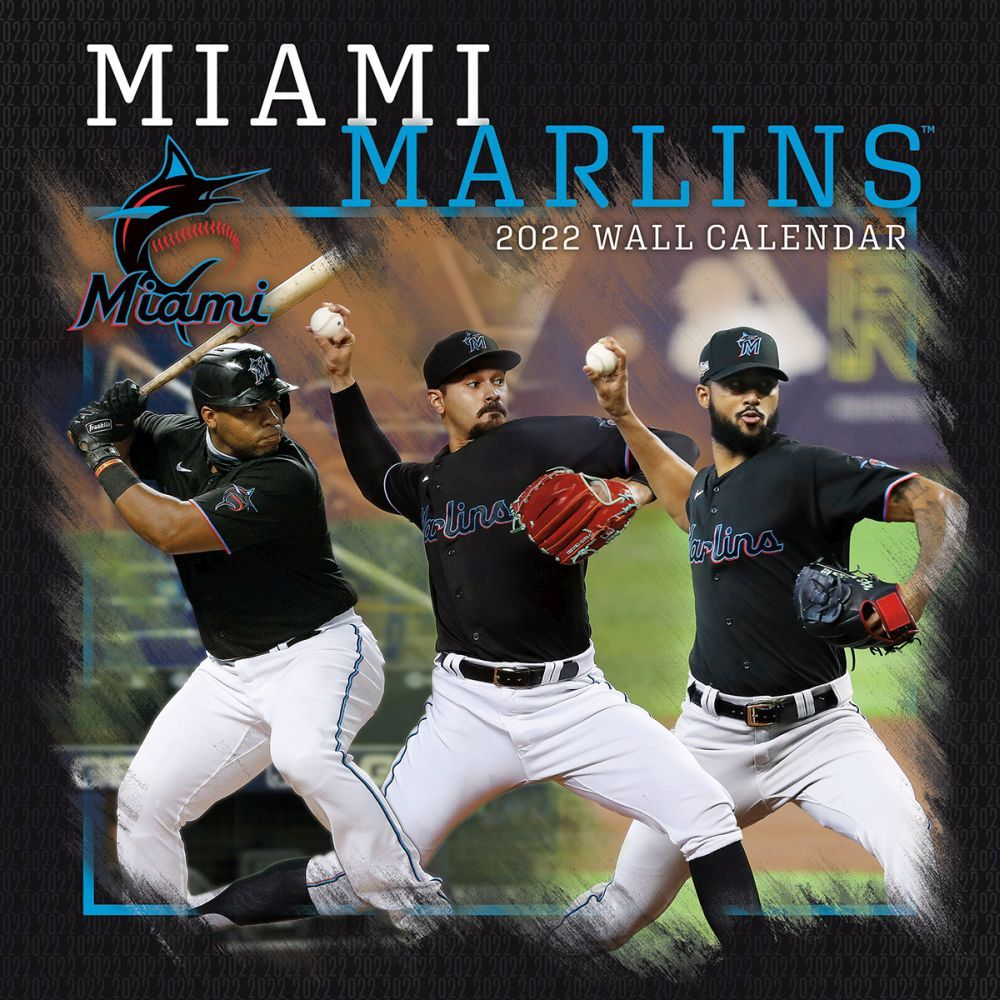 Miami Marlins 2022 Wall Calendar