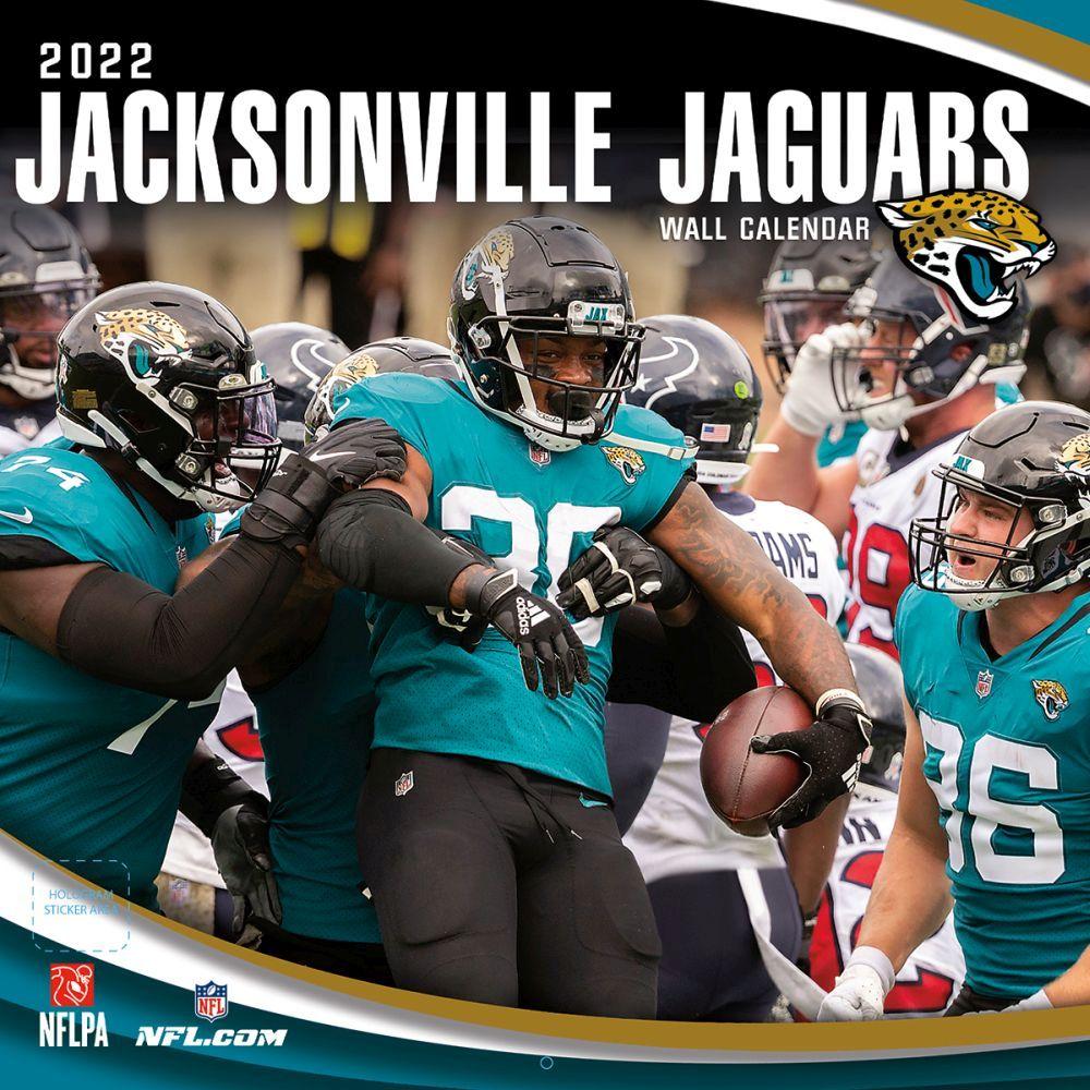 Jacksonville Jaguars 2022 Wall Calendar