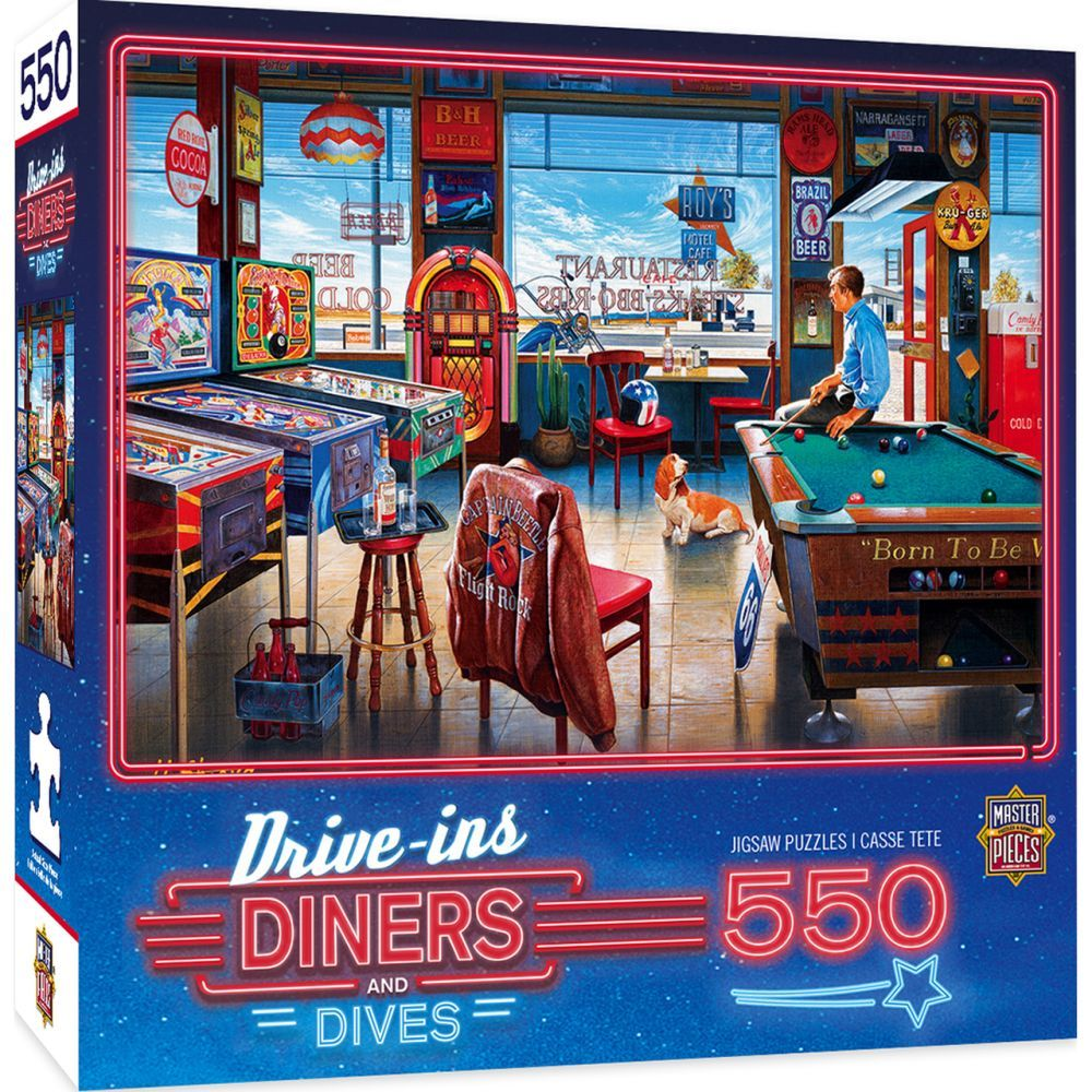Best Pool 550pc Puzzle You Can Buy