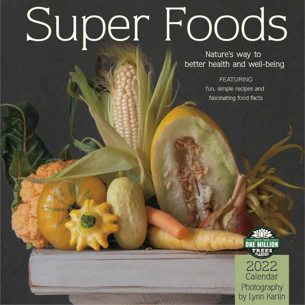 Super Foods 2022 Wall Calendar
