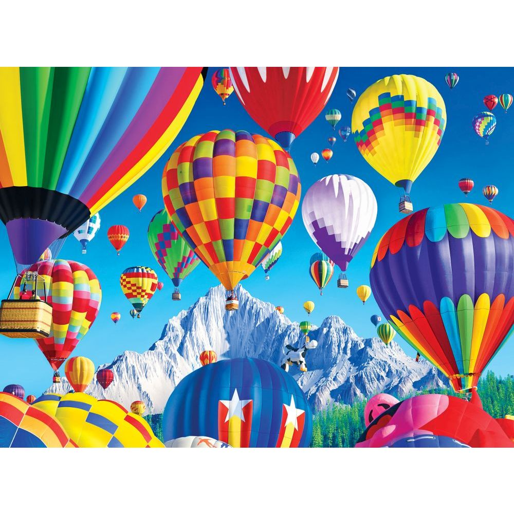 Best Kodak Balloons Over the Mountain 1000pc Puzzle You Can Buy