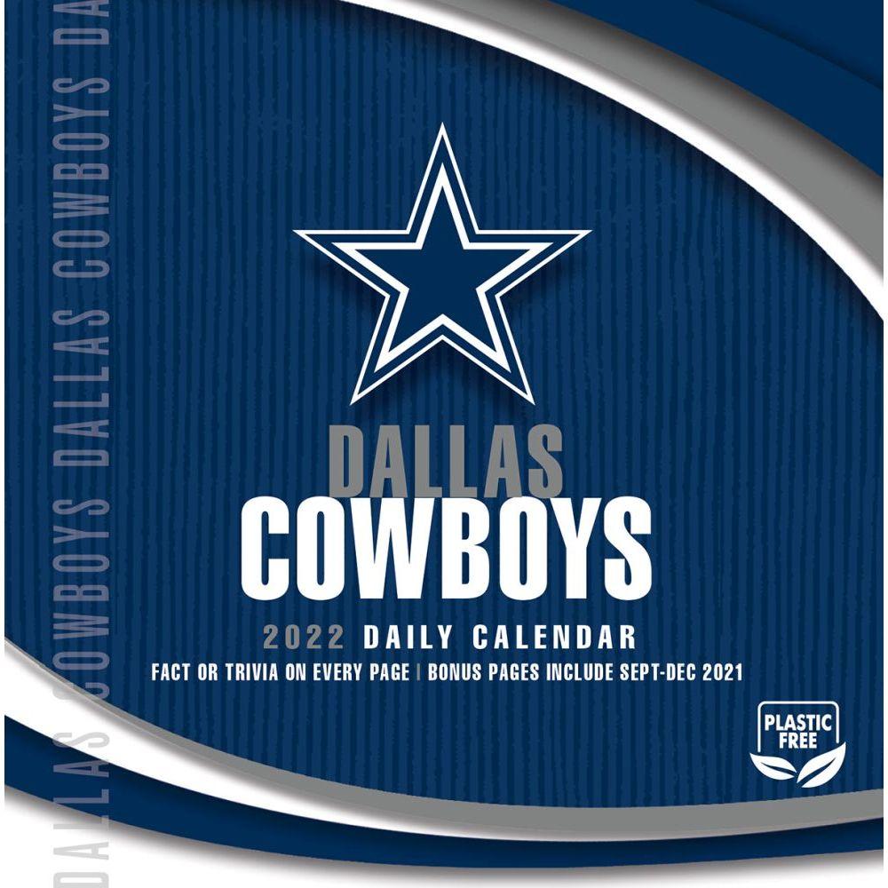 Dallas Cowboys 2022 Desk Calendar