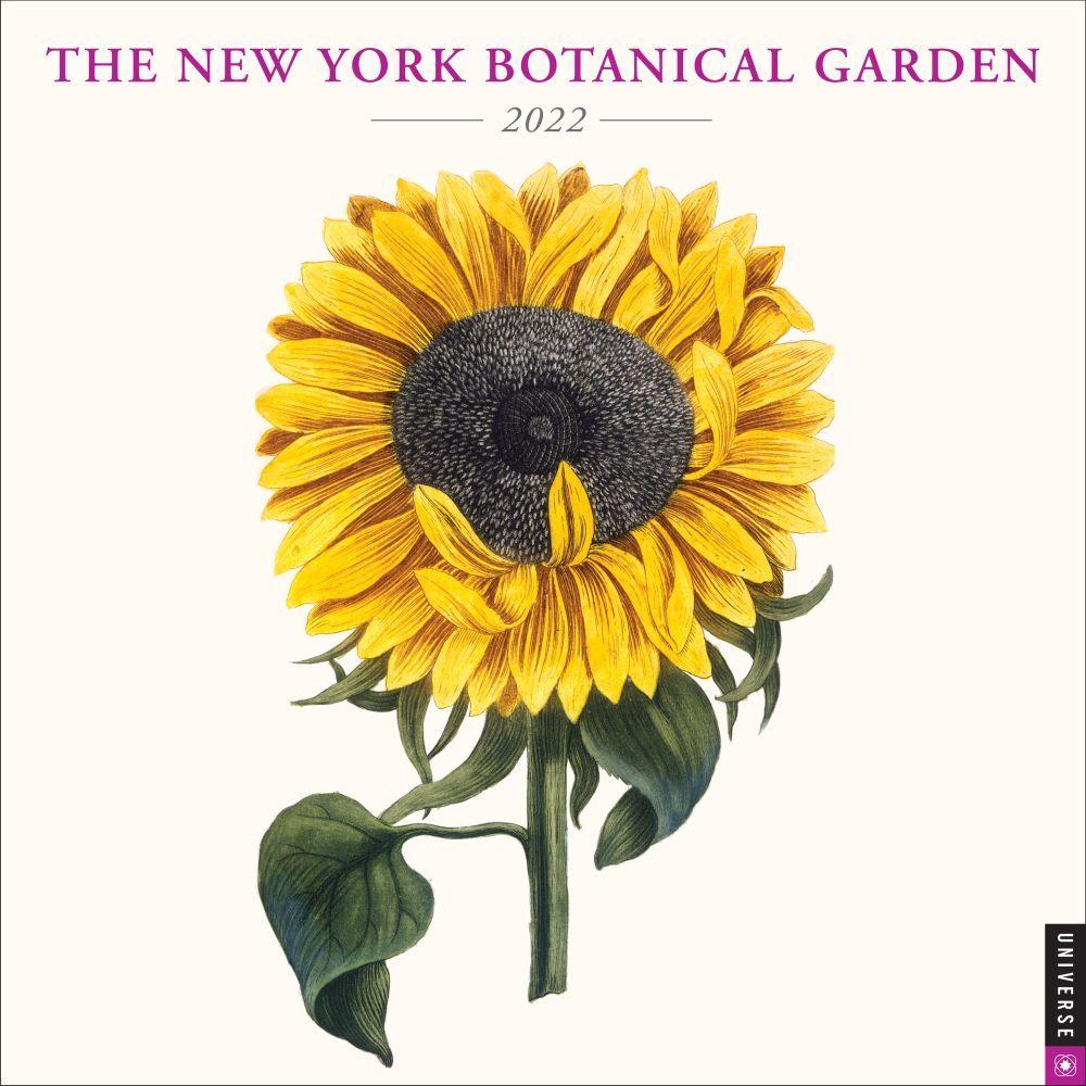 New York Botanical Garden 2022 Wall Calendar