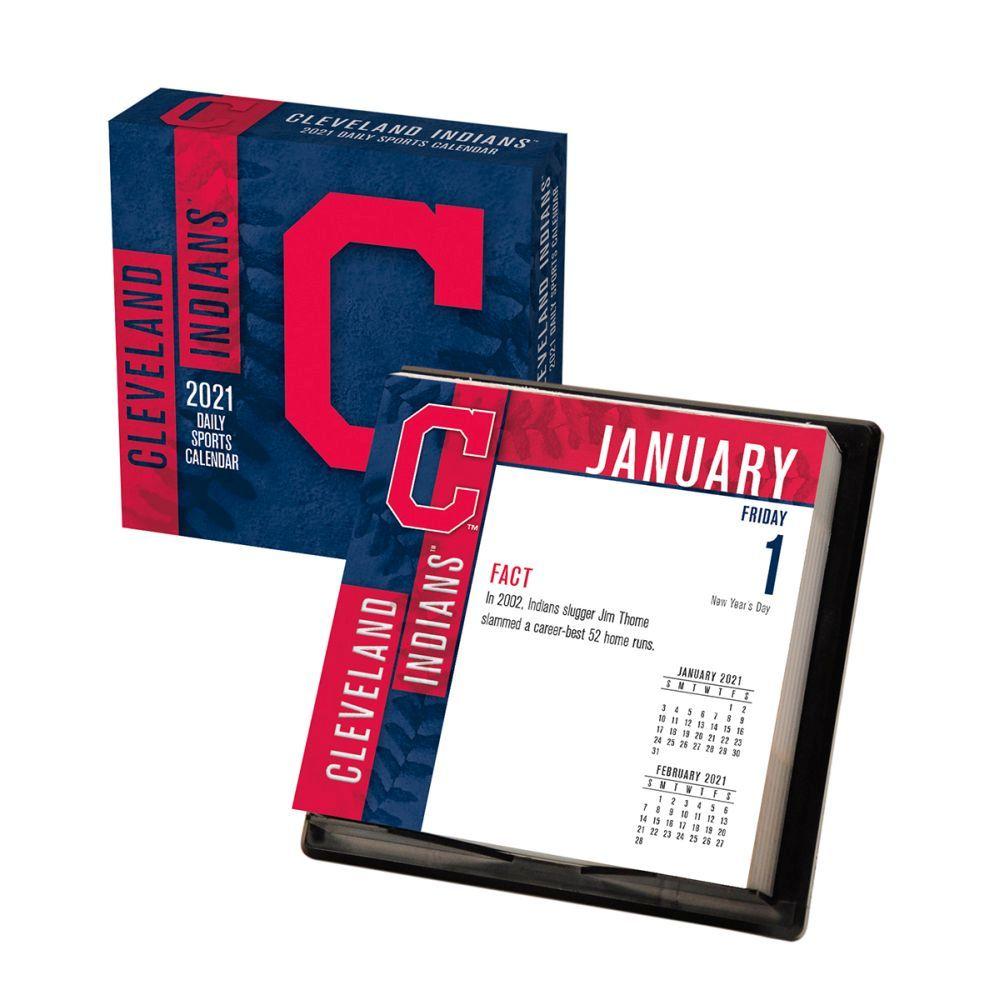 Cleveland Indians Desk Calendar