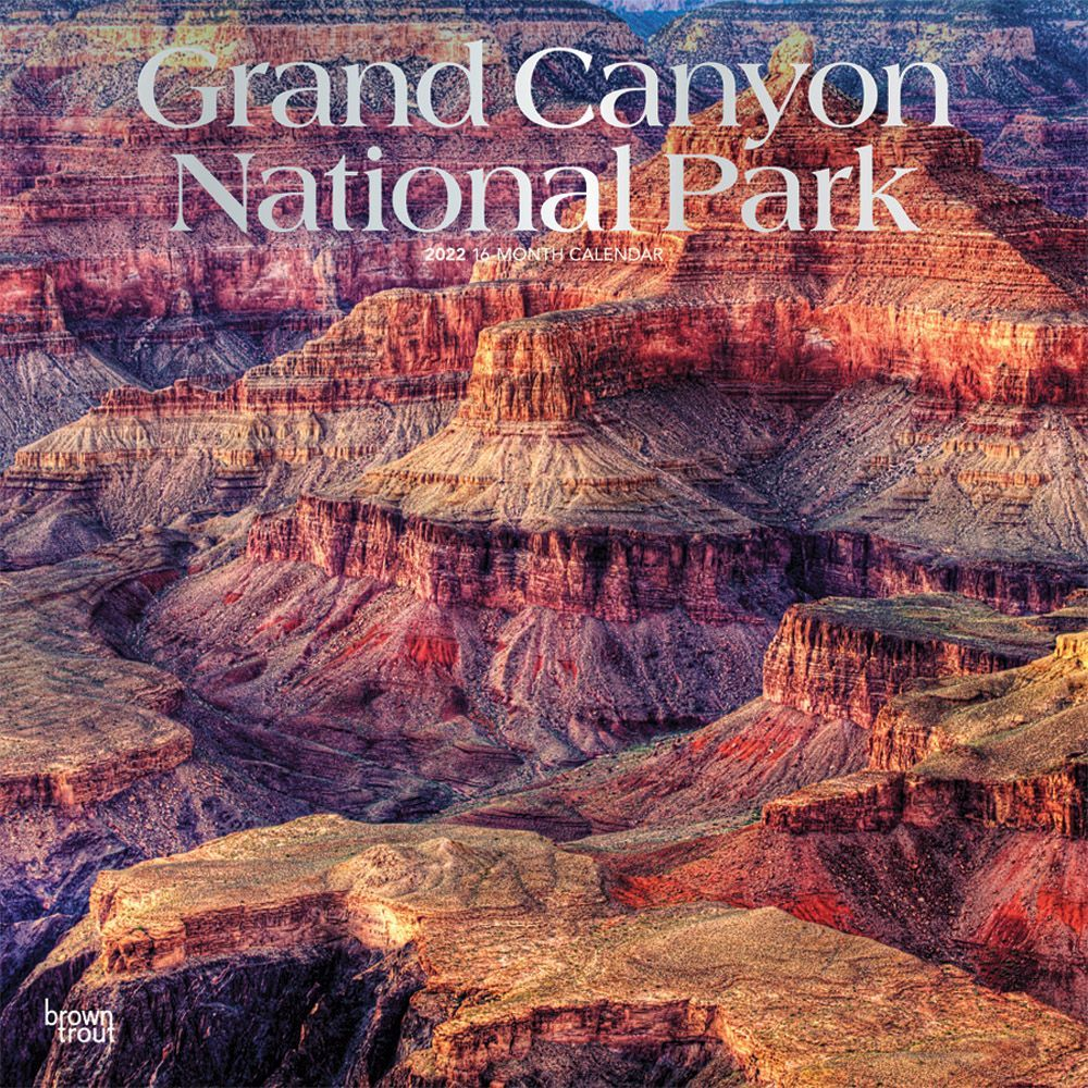 Grand Canyon National Park 2022 Wall Calendar