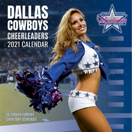 Dallas Cowboys Cheerleaders Wall Calendar