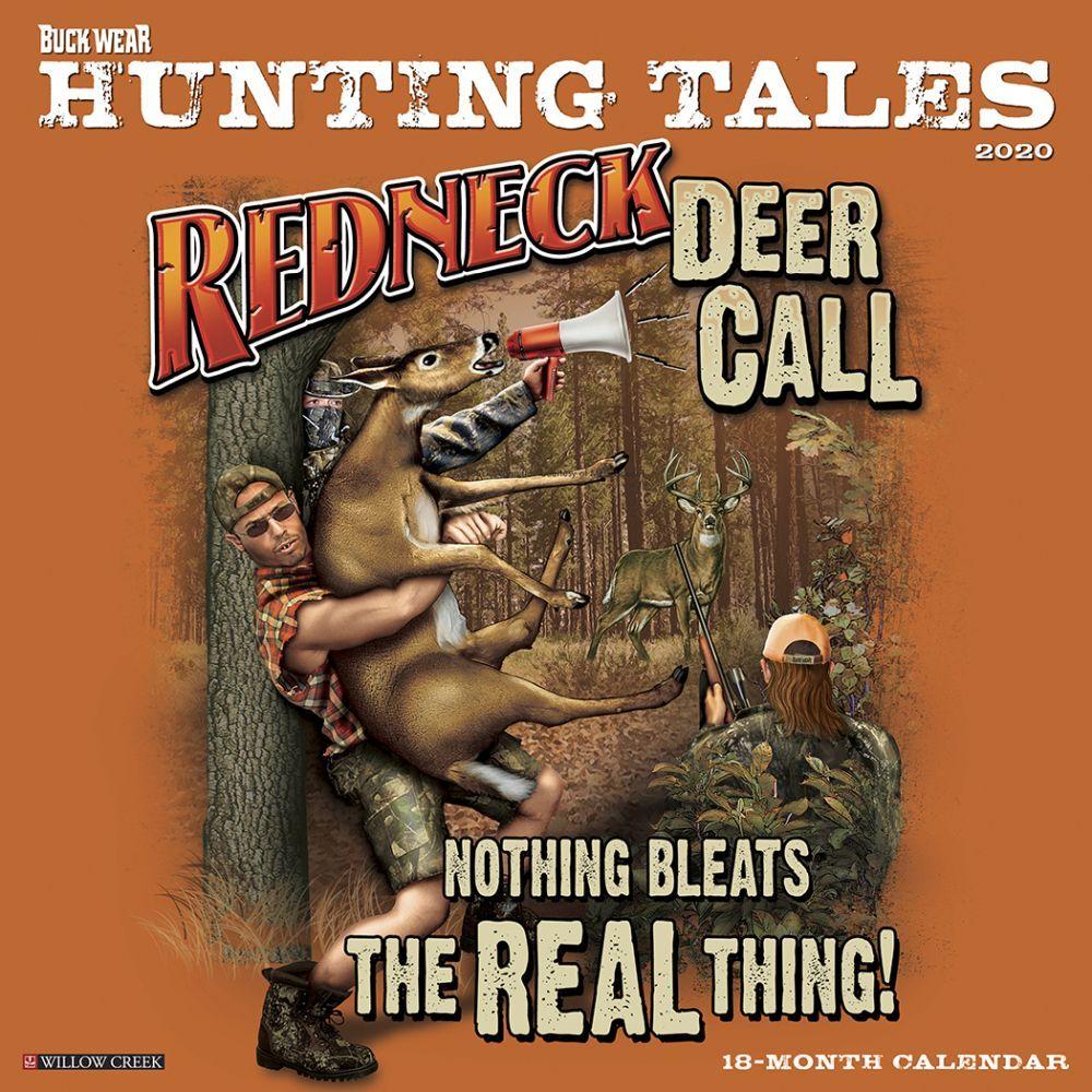 Hunting Tales Buck Wear 2021 Wall Calendar