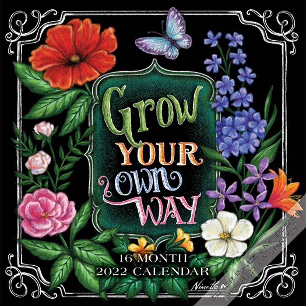 Grow Your Own Way 2022 Mini Wall Calendar