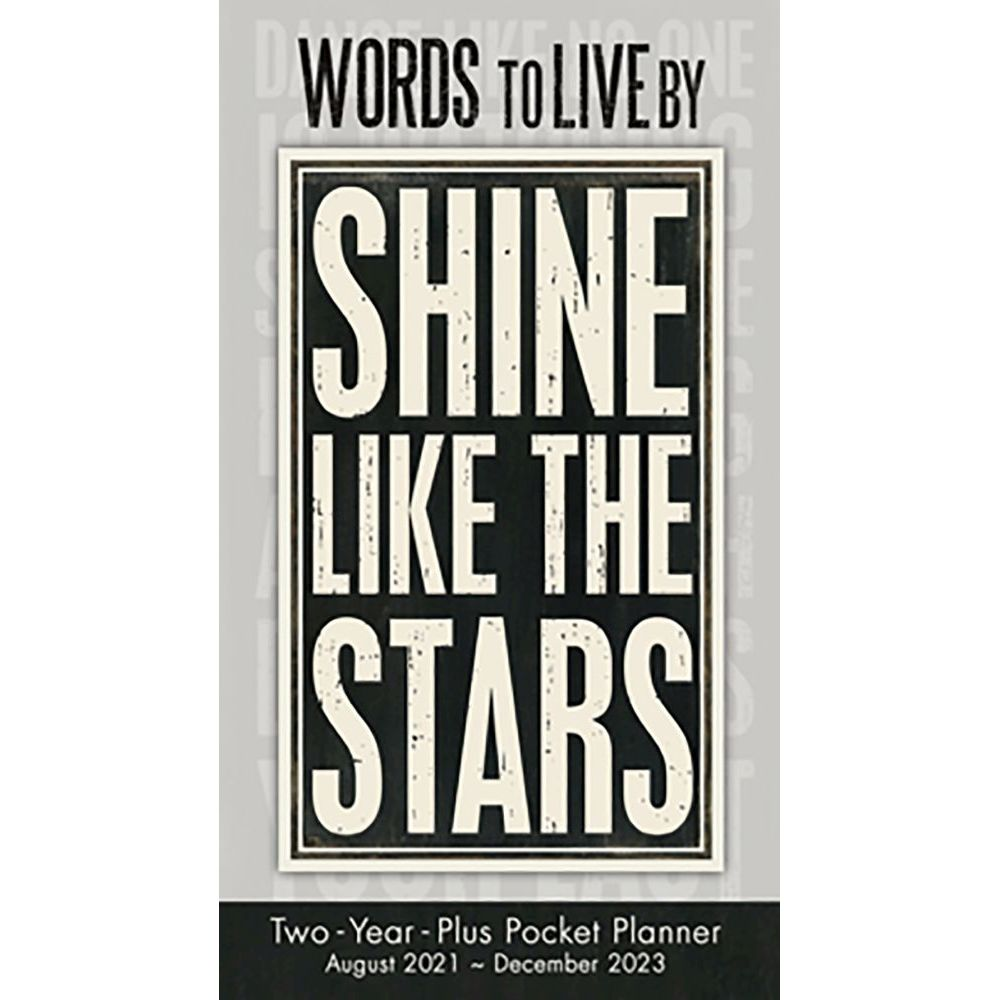 Words to Live By 2022 Pocket Planner
