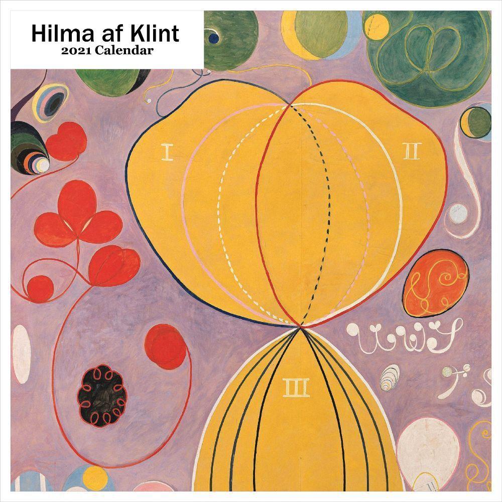 2021 Hilma at Klint Wall Calendar