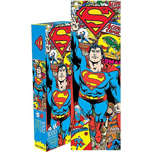 Superman | Puzzle | Retro | Piece | 1000