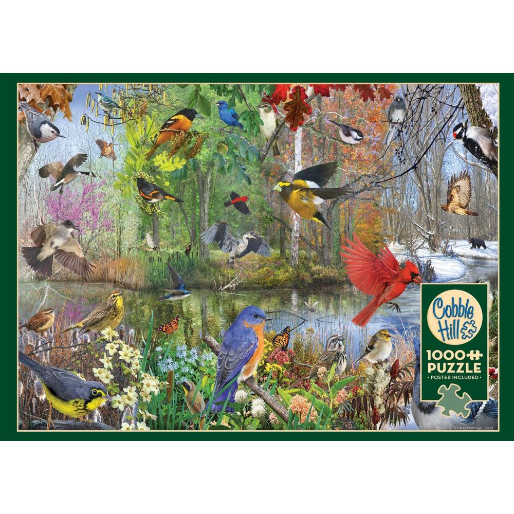 Best Bird of the Season 1000pc Puzzle You Can Buy