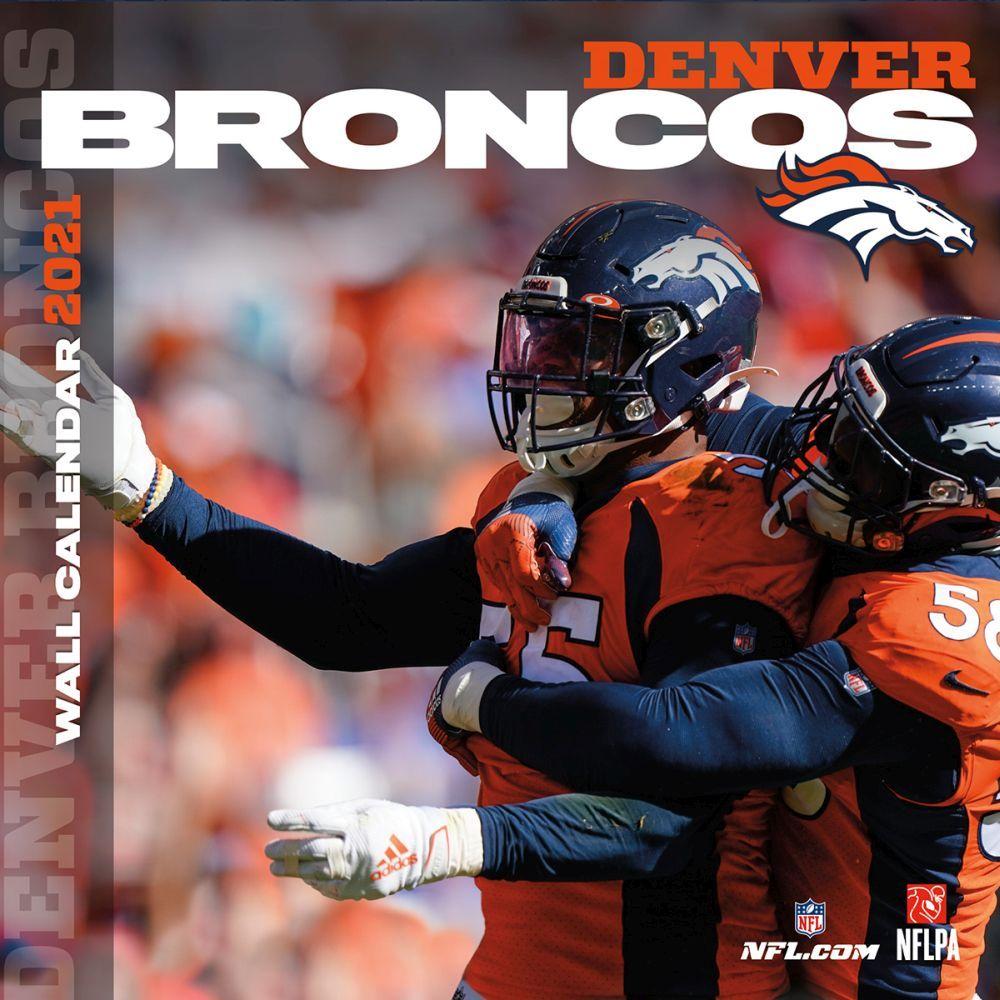 Denver Broncos 2021 Wall Calendar