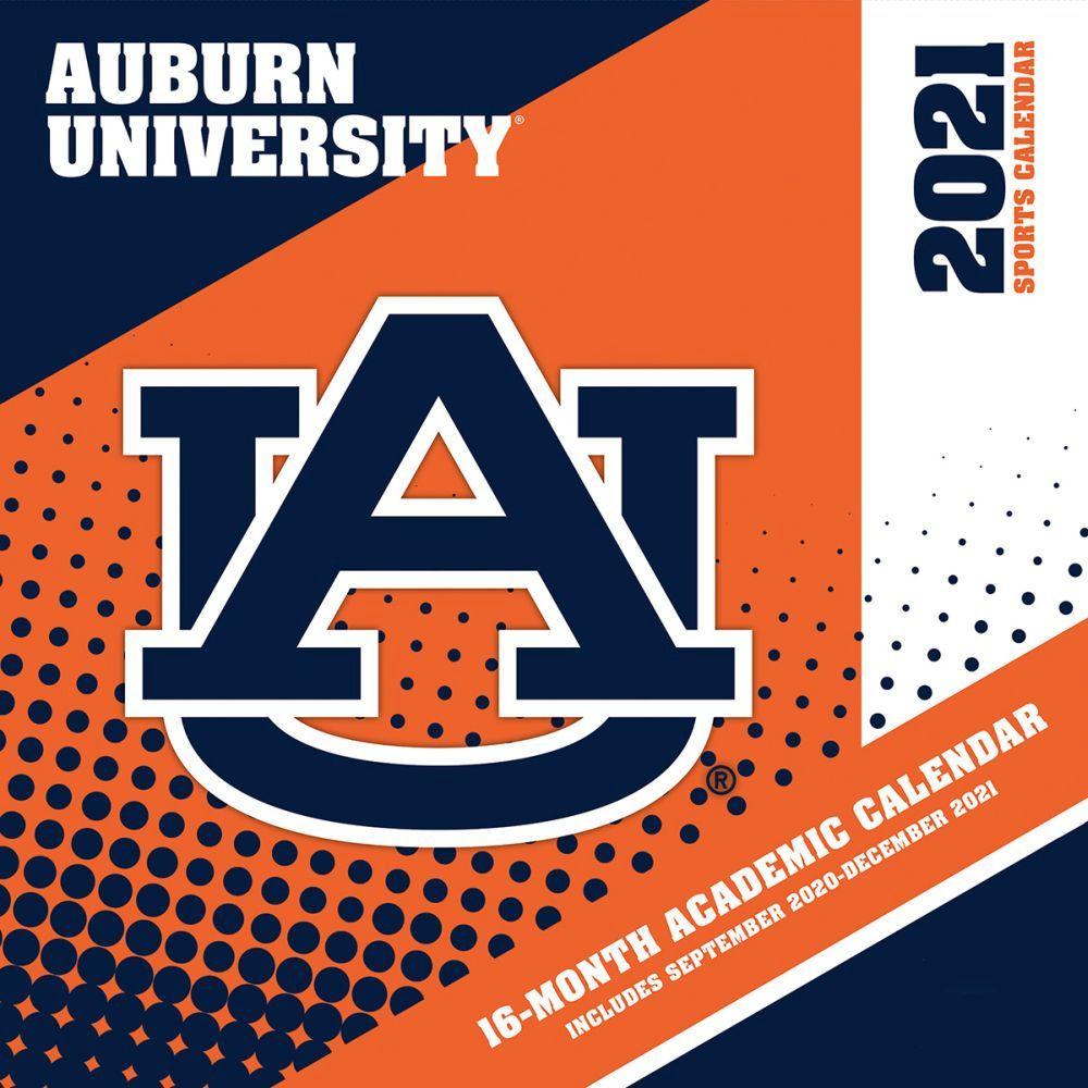 Auburn University Tiger Football 2021 Wall Calendar