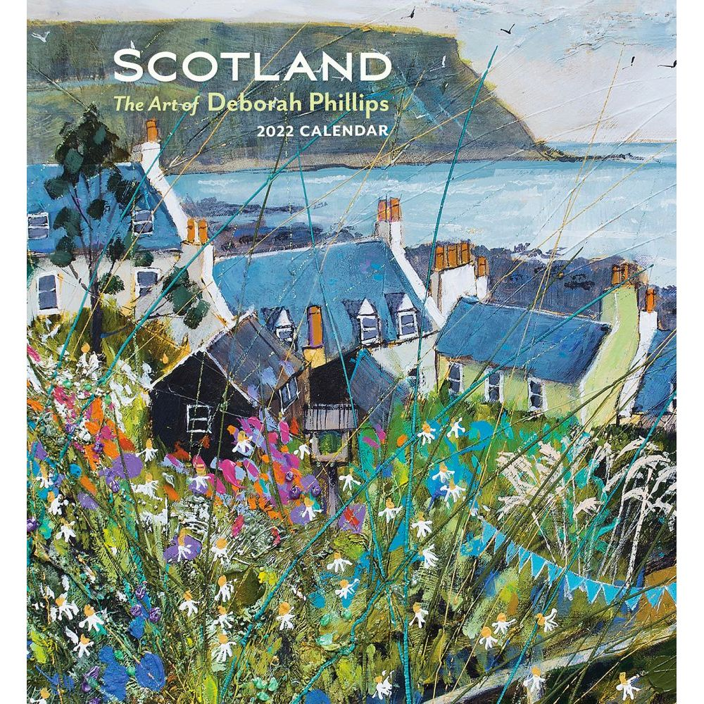 Scotland Phillips Art 2022 Wall Calendar