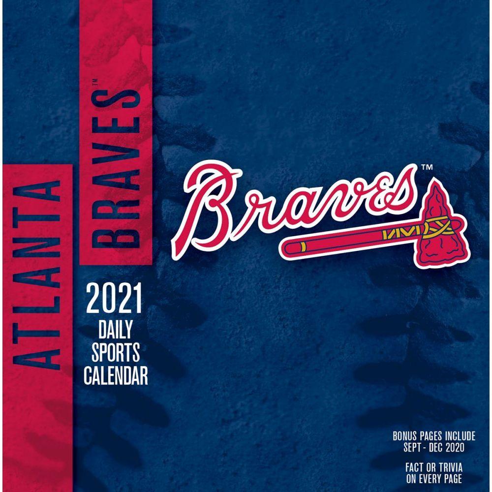 Atlanta Braves Desk Calendar