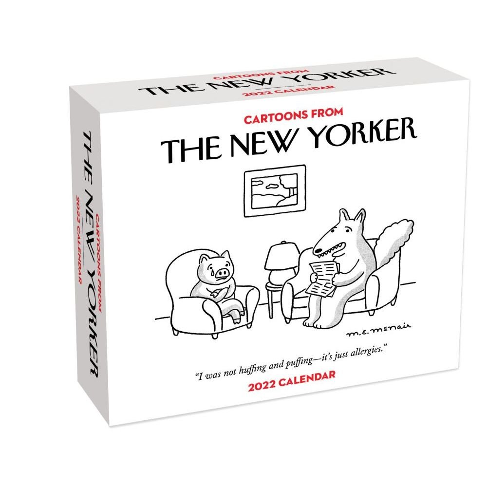 New Yorker, Cartoons from The 2022 Desk Calendar