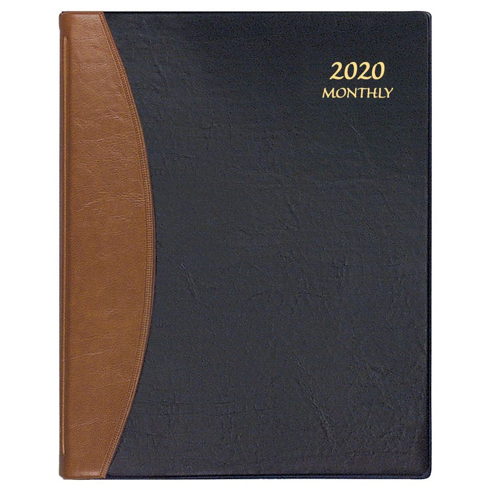 Blk/Tan-Carriage-Monthly-Planner-1