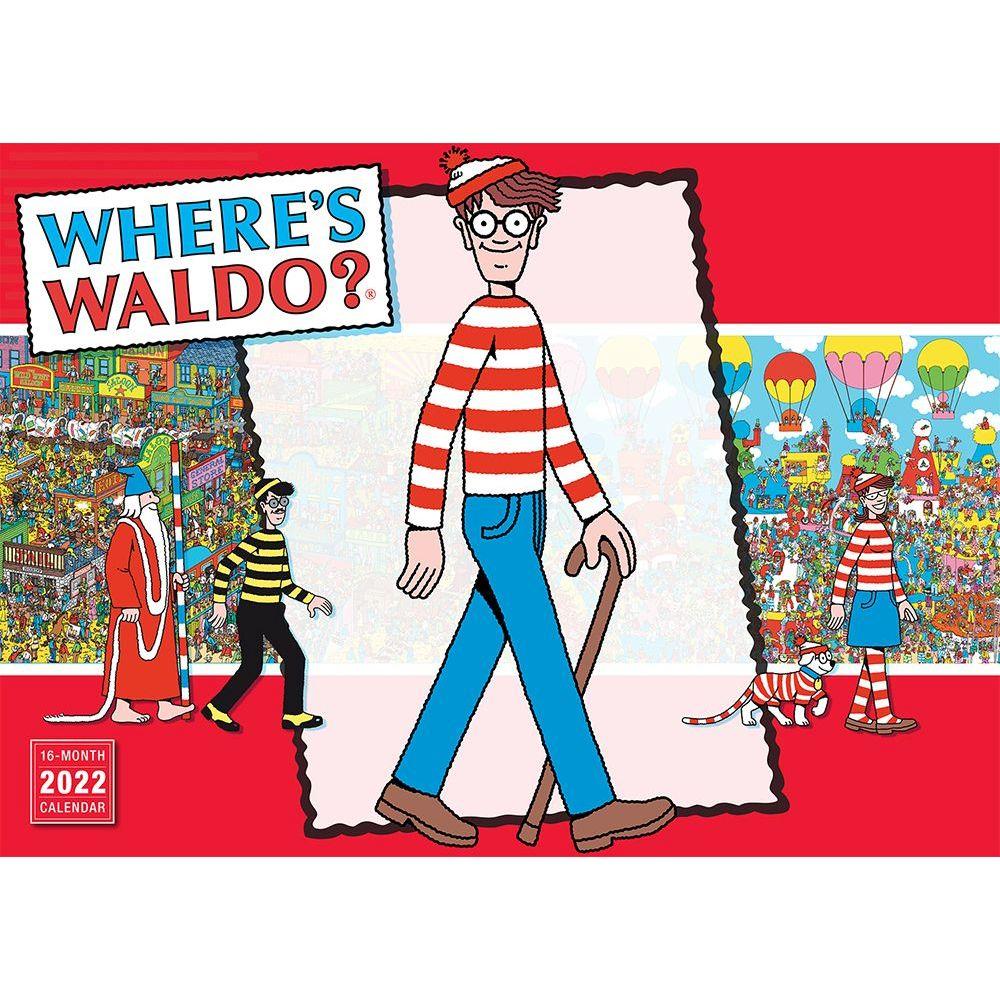 Where's Waldo 2022 Wall Calendar