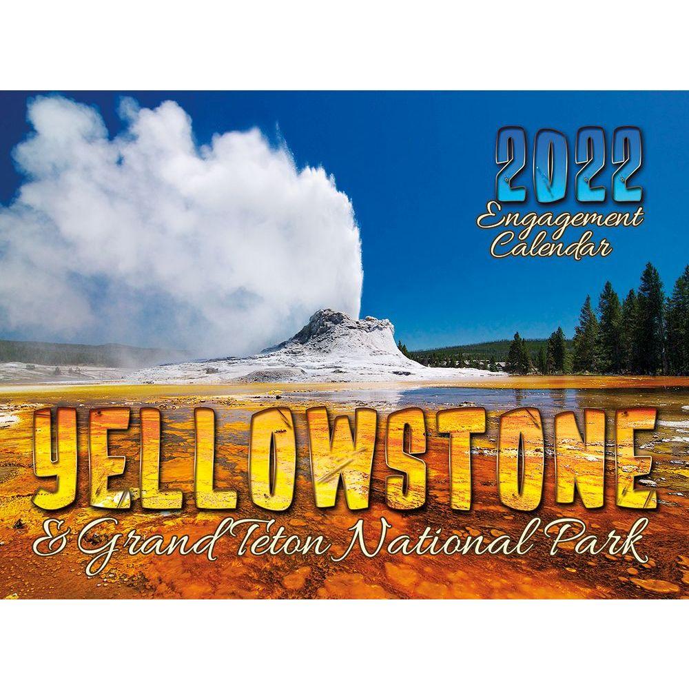 Yellowstone & Grand Teton 2022 Wall Calendar