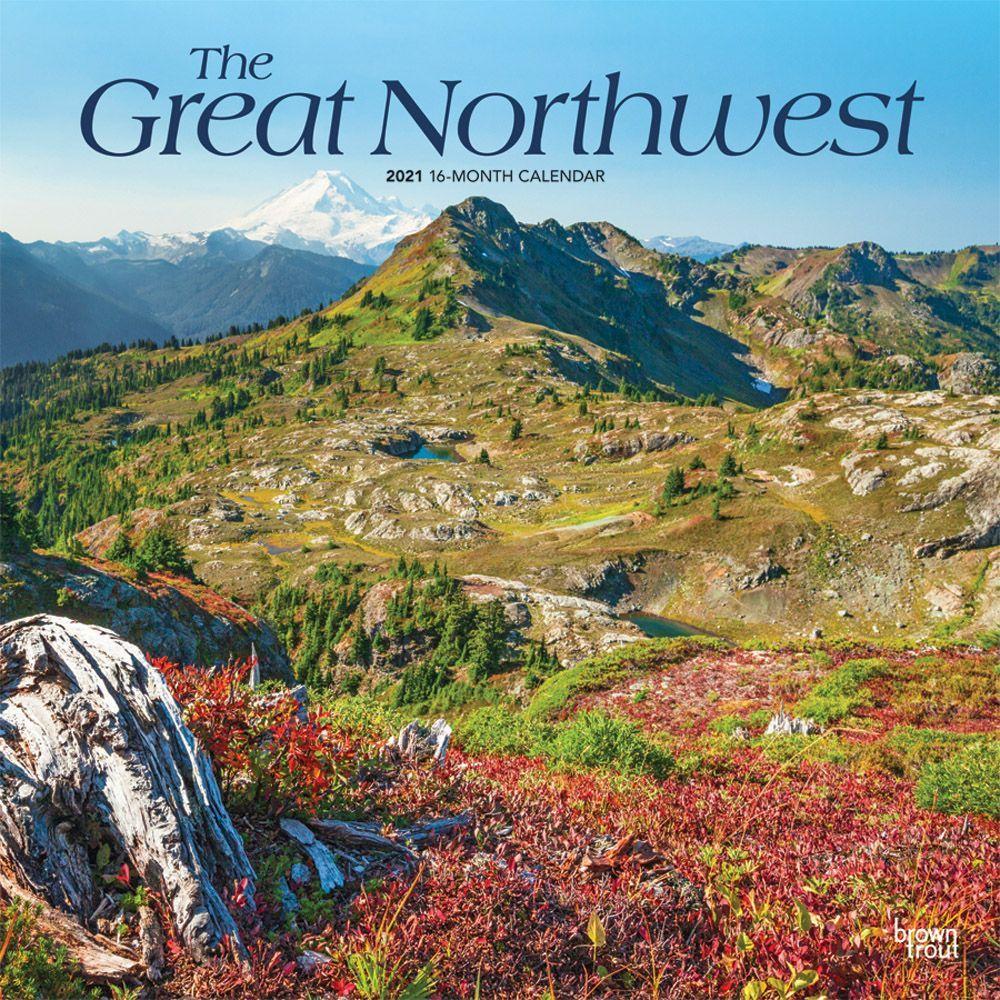 Great Northwest 2021 Wall Calendar