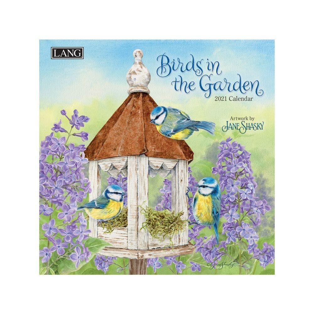 2021 Birds in the Garden Mini Wall Calendar by Jane Shasky